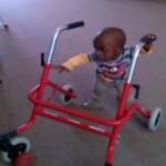 Ruben kan lopen!